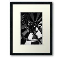 Darts Framed Print