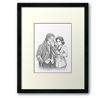 Bigby Wolf and Snow White Framed Print