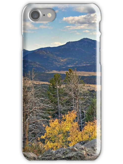 Rocky Mountains - iPhone Case by Colleen Drew