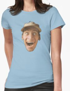 Hey Vern Womens Fitted T-Shirt
