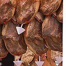 Phone Case – Typical Spanish Ham Delicatesse Barcelona by anjafreak