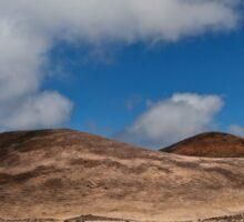 Volcanic landscape 3 Sticker
