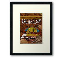 Archaeology Framed Print