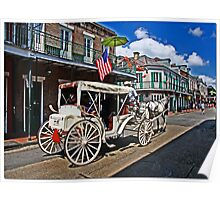 French Quarter Tourists Poster