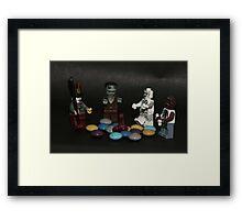 Trick or Treat Framed Print
