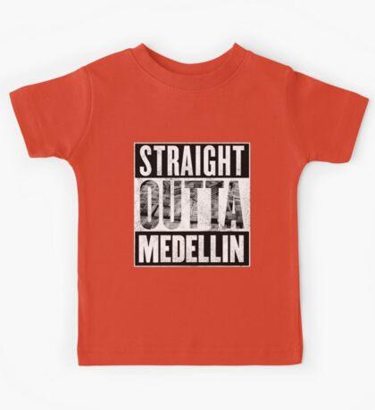 Straight Outta Medellin Kids Tee