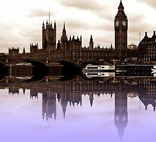 Westminster reflections by shalisa