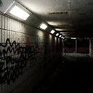 The Tunnel by BadIdeaArt