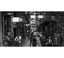 ~ Degraves Street Melbourne in B&W ~ Photographic Print