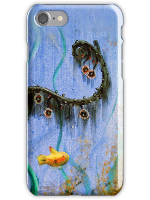 Under The Sea iPhone Case by Carrie Jackson