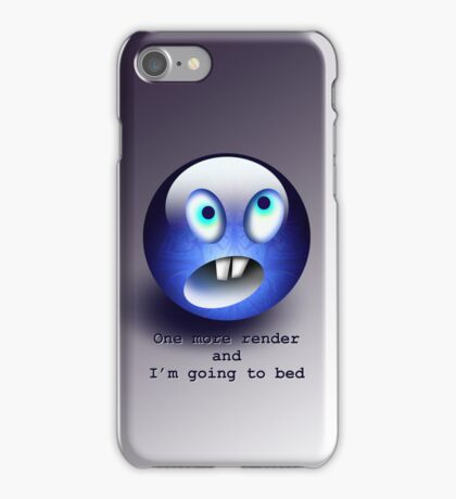 T-One more render  iPhone Case/Skin