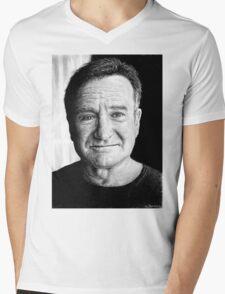 Robin Williams Mens V-Neck T-Shirt