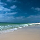 White Sand Beach by Chris Diebold