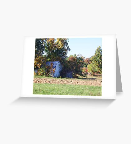 WHAT MEMORIES ABIDE HERE! Greeting Card