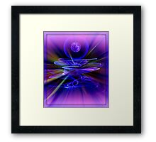 OUT OF SITE AND INTO SITE Framed Print