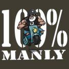 Manly Man man manbike by Alex Tawns