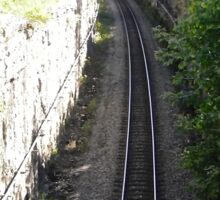 Railroad Track, Ottawa, ON Canada Sticker