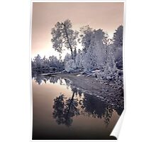 Sharbot Lake Ontario - Infrared Poster