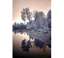 Sharbot Lake Ontario - Infrared Photographic Print