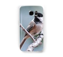 Black-capped chickadee Samsung Galaxy Case/Skin
