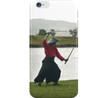 Samurai Swordman - iPhone case iPhone Case/Skin