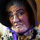 Carved Granny by © Loree McComb