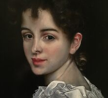 Gabrielle, After Bouguereau by Heidi Erisman