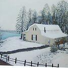 Christmas Snow II by Phyllis Frameli