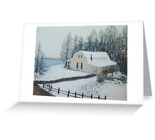 Christmas Snow II Greeting Card