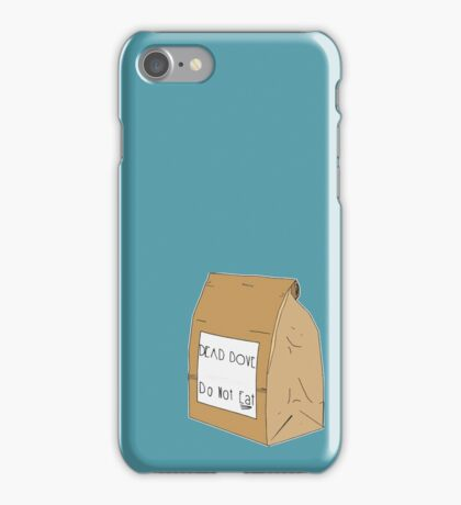 DEAD DOVE- Do Not Eat iPhone Case/Skin