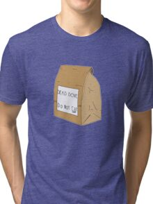 DEAD DOVE- Do Not Eat Tri-blend T-Shirt