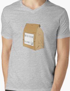 DEAD DOVE- Do Not Eat Mens V-Neck T-Shirt