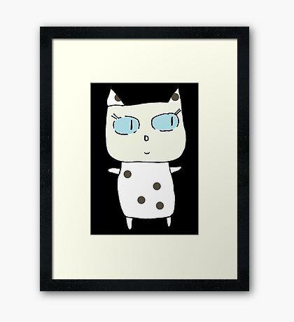 Marina the Cat Framed Print