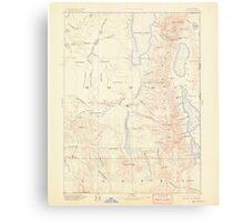 USGS Topo Map California Alturas 299714 1892 250000 Metal Print
