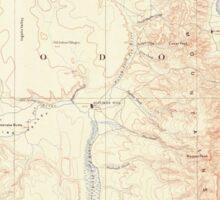 USGS Topo Map California Alturas 299714 1892 250000 Sticker