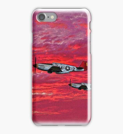 """""""Red Tails in the Sunset"""" iPhone Case/Skin"""