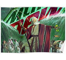 Moses Parting the Mountain Dew Poster