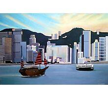 Hong Kong Dawn Photographic Print