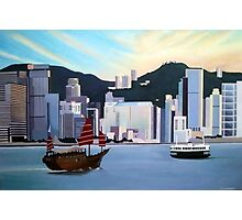 Hong Kong Dusk Photographic Print