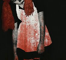 What is Black and White and Red All Over? Zombie Raggedy Ann by Lisa Knechtel