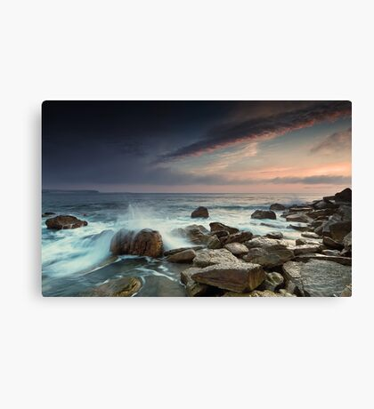 As the Fog Rolls In Canvas Print
