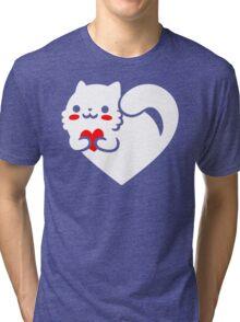 Sweet Cat Tri-blend T-Shirt