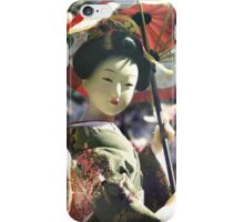 Springtime Geisha iPhone Case/Skin