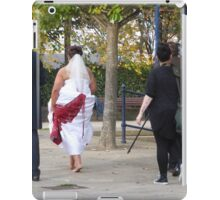 One Bride, One Groom And Three Photographers!! iPad Case/Skin