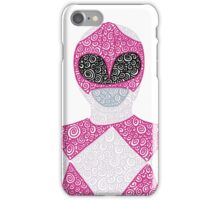 Mighty Morphin Pink Ranger iPhone Case iPhone Case/Skin
