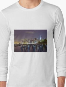 Down by the Shore  Long Sleeve T-Shirt
