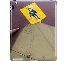 Aircraft Abstract—Musketeer Squadron iPad Case/Skin