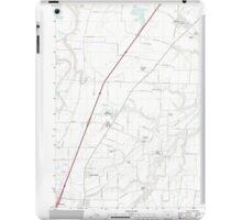 USGS Topo Map Oregon Gervais 20110826 TM iPad Case/Skin