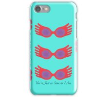 You're Just as Sane as I Am iPhone Case iPhone Case/Skin