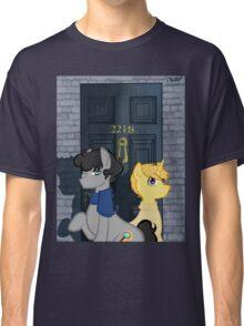 The Adventures of Sherlock Hooves: 221B Classic T-Shirt